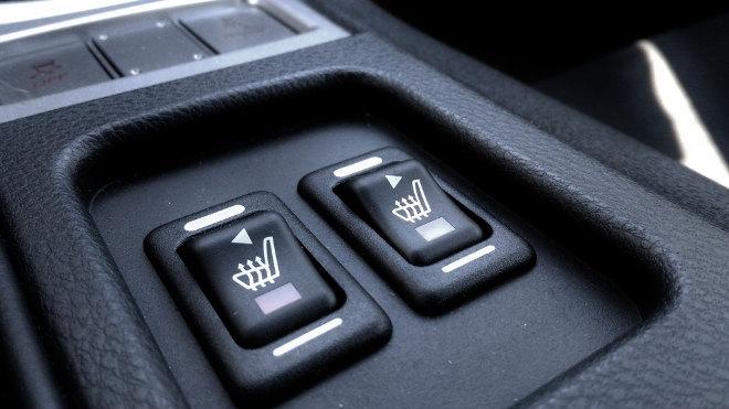 Subaru BRZ Facelift Sitzheizung