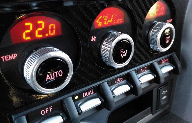 Subaru BRZ Facelift Schalter Mittelkonsole