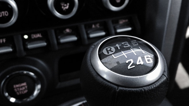 Subaru BRZ Facelift 2017 Schaltung