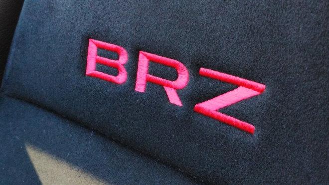 Subaru BRZ Facelift Blau Sitz