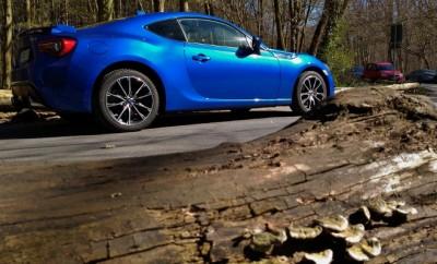 Subaru BRZ Facelift Blau Seite