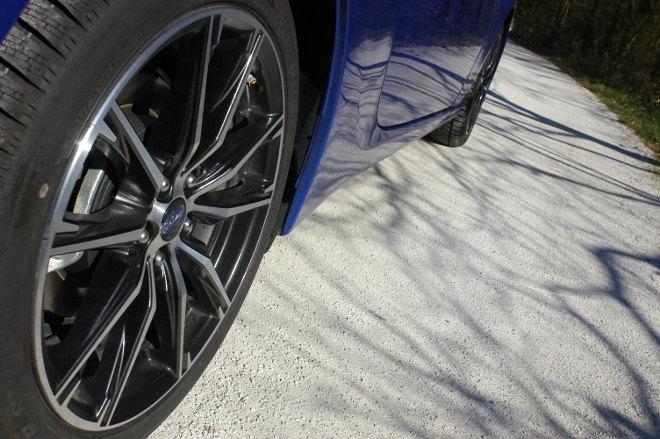 Subaru BRZ Facelift Blau Felge