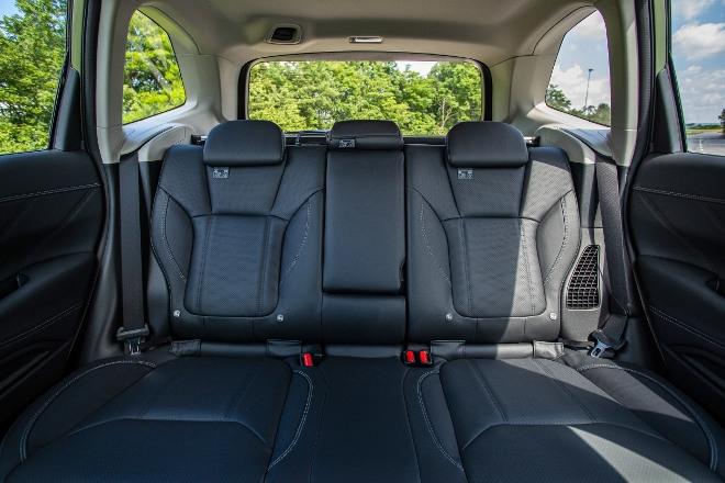 Subaru Forester Hybrid e Boxer Sitzbank hinten