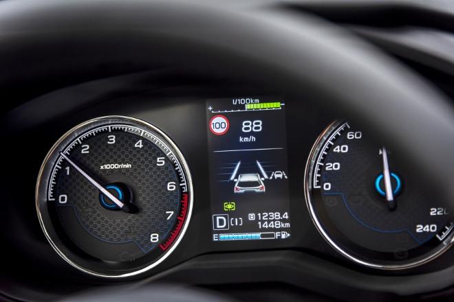 Subaru Forester Hybrid e Boxer Spurhalteassistent