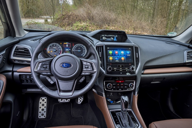 Subaru Forester Hybrid e Boxer Cockpit