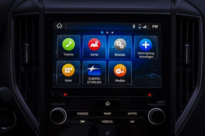 Subaru Forester Hybrid e Boxer großer Bildschirm