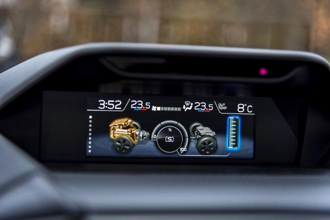 Subaru Forester Hybrid e Boxer Hybrid Anzeige
