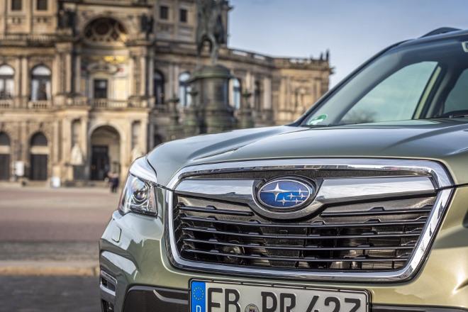 Subaru Forester Hybrid e Boxer Grill, Front