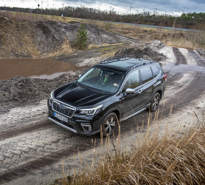 Subaru Forester Hybrid e Boxer Test