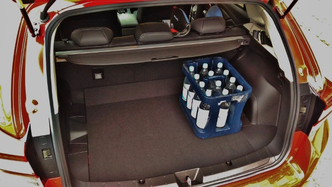 Subaru Impreza 2019 Volumen des Kofferraum