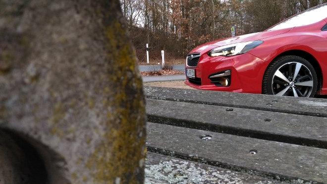 Subaru Impreza 2019 Frontpartie und Felgen