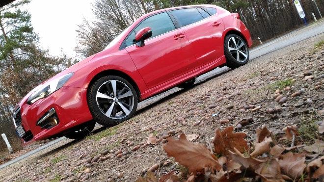 Subaru Impreza Sport 2019 in Rot