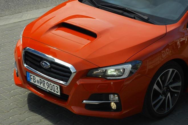 Subaru Levorg Motorhaube Test