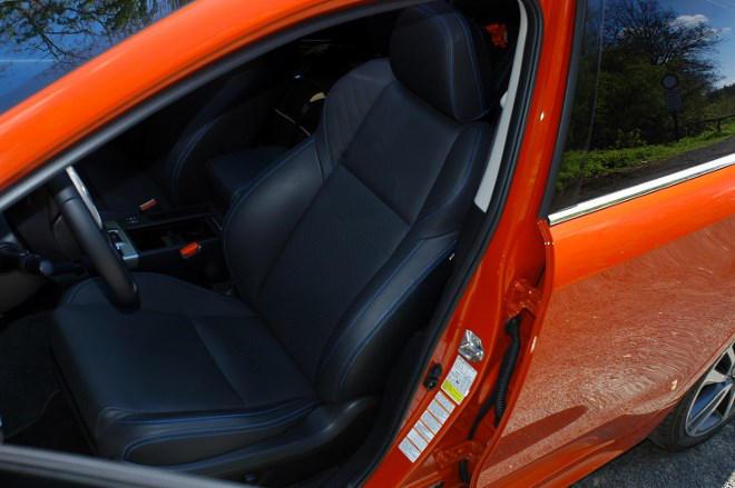 Subaru Levorg Sitze Test