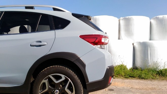 Subaru XV Grau Heck 2. Serie 2018