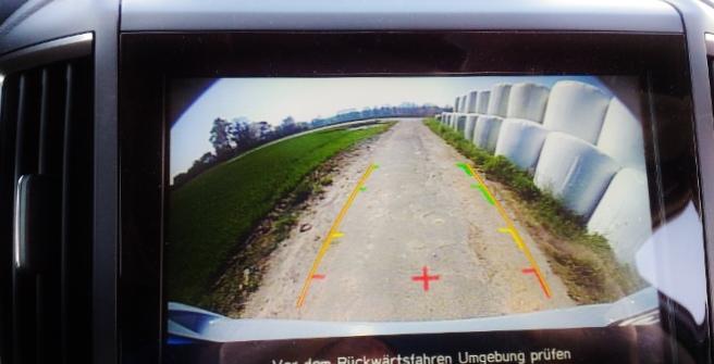 Subaru XV Kamera, Rückfahrkamera 2018
