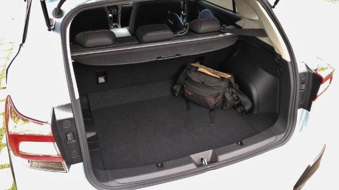 Subaru XV Kofferraum, Gepäckraum