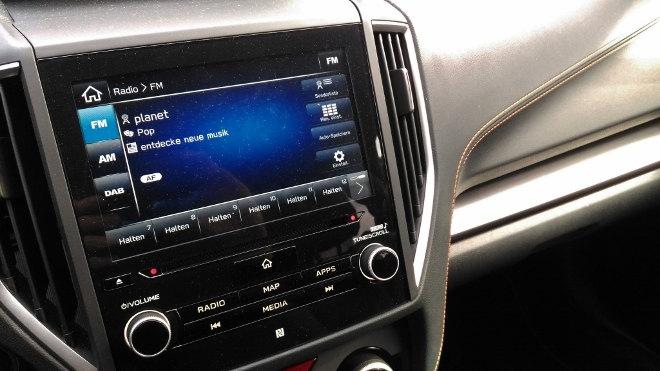 Subaru XV Bildschirm, Touchsreen 2018