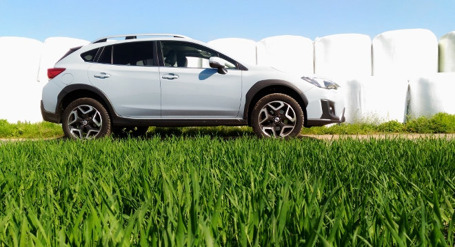 Subaru XV Test grau 2018