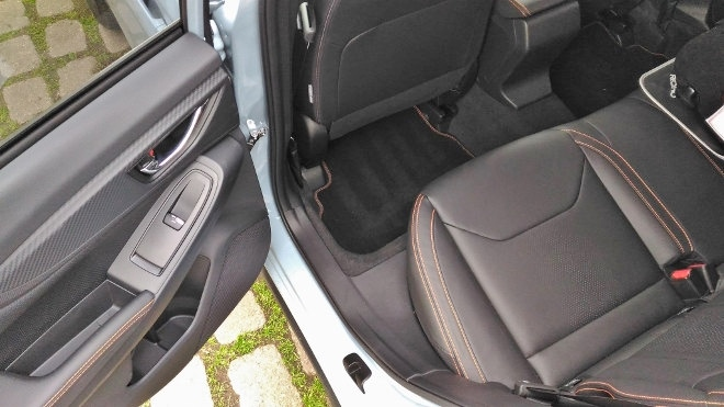 Subaru XV Sitze hinten