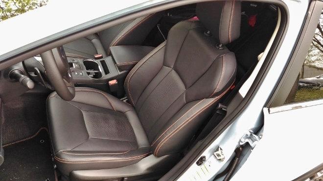 Subaru XV Sitze 2018