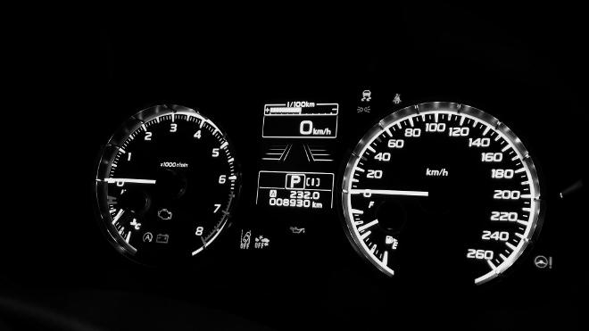 Subaru Levorg Facelift Tacho