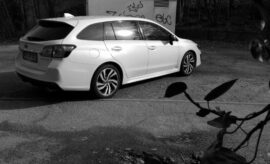 Subaru Levorg Facelift white
