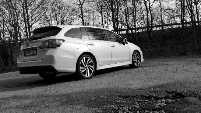 Subaru Levorg Facelift weiss