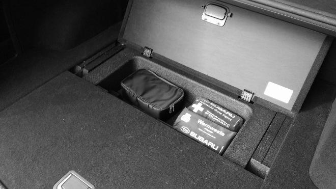 Subaru Levorg Facelift Fach Kofferraum