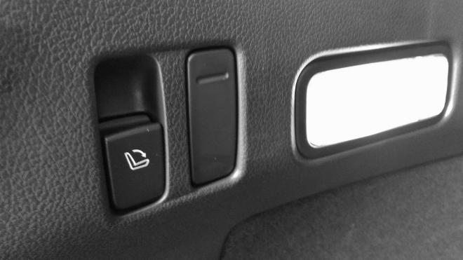 Subaru Levorg Facelift Sitzbank flach legen Taste