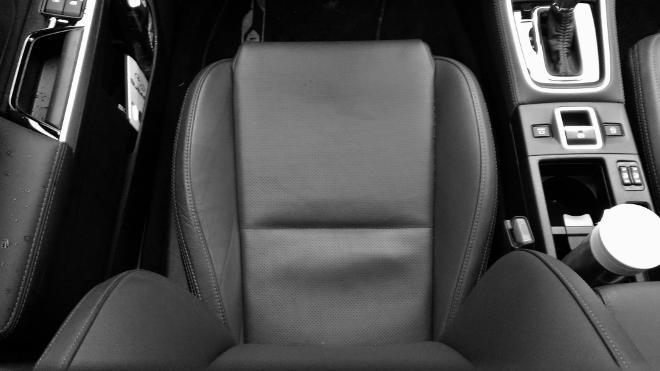 Subaru Levorg Facelift Ledersitz