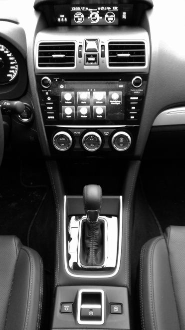 Subaru Levorg Facelift Mittelkonsole