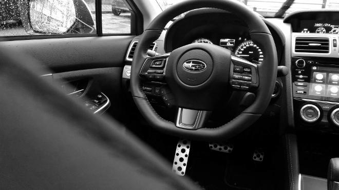 Subaru Levorg Facelift Lenkrad