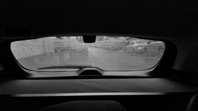 Subaru Levorg Facelift Heckfenster Aussicht