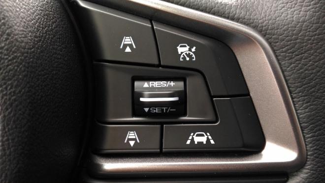 ACC Tempomat Tasten Lenkrad Subaru XV Hybrid eBoxer