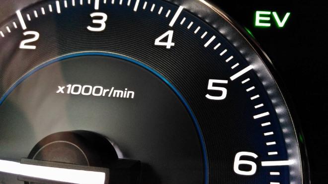 EV Anzeige Subaru XV Hybrid eBoxer