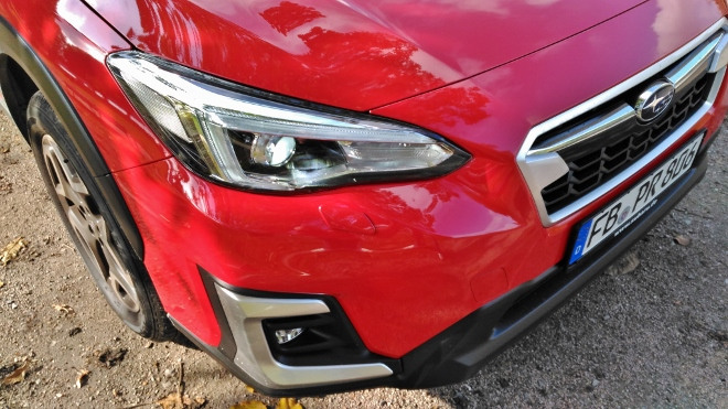 Facelift Front Subaru XV Hybrid eBoxer