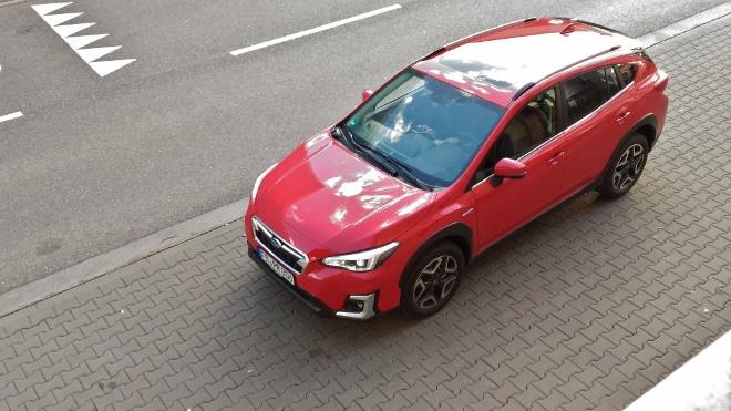 Subaru XV Hybrid eBoxer in rot