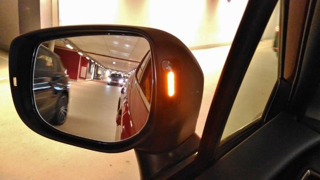 Warnleuchte Spiegel Subaru XV Hybrid eBoxer