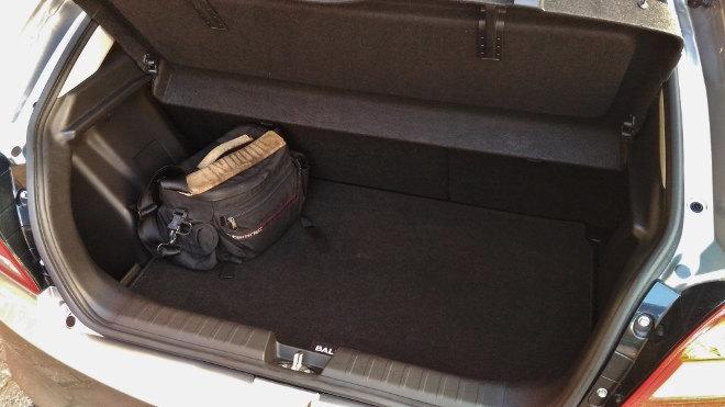 Suzuki Baleno Kofferraum