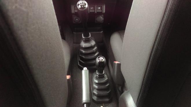 Suzuki Jimny 2 Jeep Schalthebel Untersetzung