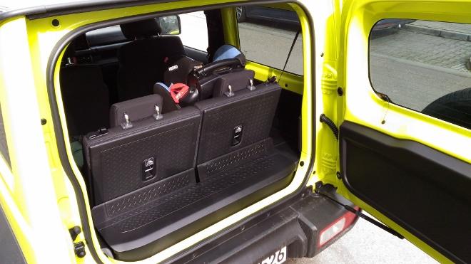 Suzuki Jimny 2 Jeep Kofferraumund Heckklappe