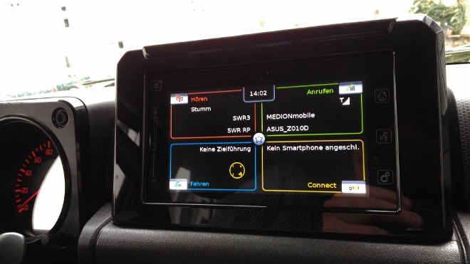 Suzuki Jimny 2 Jeep Touchscreen