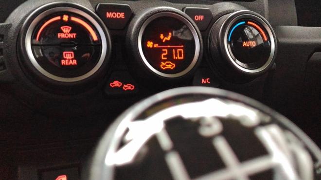 Suzuki Jimny 2 Jeep Klimaanlage