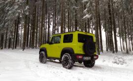 Suzuki Jimny Jeep yellow