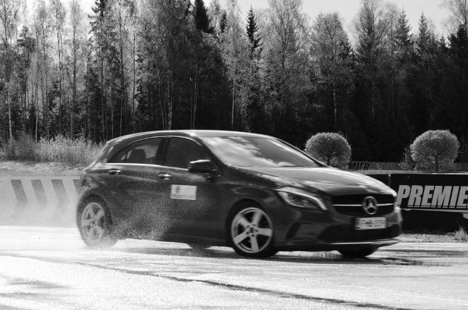 Tire Testing Black Donuts Finland