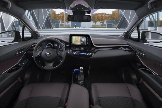 Toyota CHR Innenraum