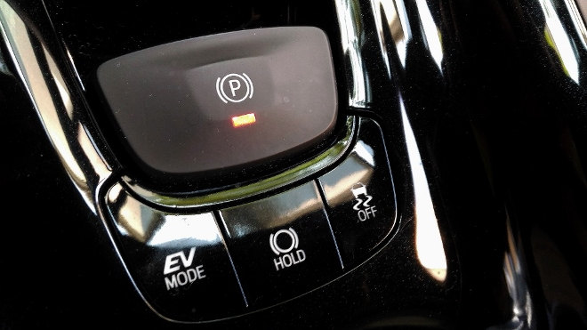 Toyota C-HR Hybrid EV Mode