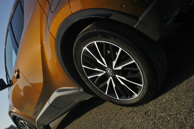 Toyota C-HR Hybrid Felgen