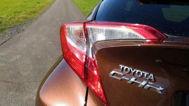 Toyota C-HR Hybrid Heckleuchte
